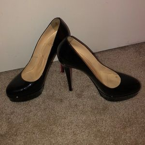 Authentic Christian Louboutins size 39.5 Bianca